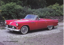 Ford Thunderbird 1955 - nr. 23810