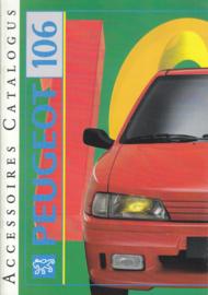 106 accessories brochure, 34 pages, A4-size, 1992, Dutch language