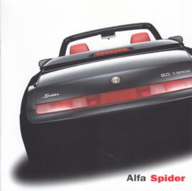 Spider brochure, 12 square pages, 08/2001, German language