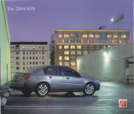 ION 2004 brochure, 10 pages, # Autoion04MY, USA