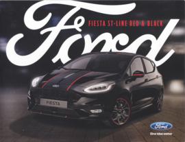 Fiesta ST-Line Red & Black brochure, 6 pages, 09/2018, German language