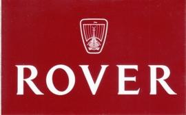 Rover, sticker, 11 x 7 cm