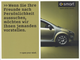 Forfour brochure, 6 pages, 05/2003, German language