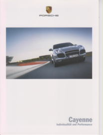 Cayenne brochure, 6 pages, 11/2004, German