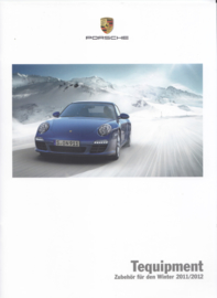 Tequipment Winter brochure, 20 pages, 09/2011, German language
