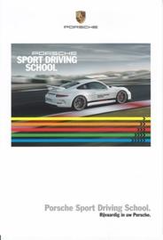 Sport Driving School 2015 leaflet, 2 pages, 2015, Dutch language