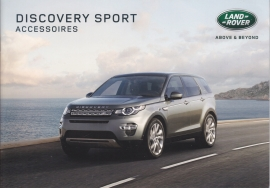 Discovery Sport accessories brochure, 20 A5-size pages, 06/2015, Dutch language