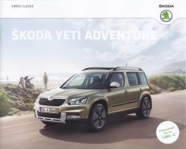 Yeti Adventure brochure, 16 pages, German language, 04/2016