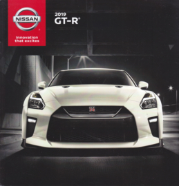 GT-R sportscar brochure, 16 pages, USA issue, 07/2018, English language