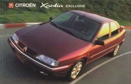Citroën Xantia Exclusive, sticker, 15 x 10 cm