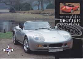 Mantaray V8 Convertible, 2 page brochure, about 2000, English language