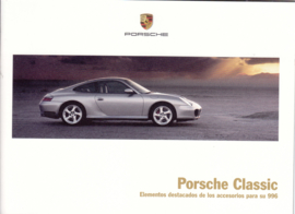 Classic 996 accessories brochure, 16 pages, 07/17, Spanish