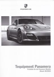 Panamera Tequipment pricelist, 60 pages, 08/2010, German