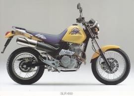 Honda SLR 650 postcard, 18 x 13 cm, no text on reverse, about 1994