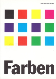 Farben (colours) brochure, 12 pages, 08/95, German