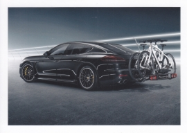 Panamera 4S tequipment postcard, DIN A6 size, factory-issue, WAS7 1401 0003 35, French