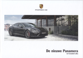 Panamera new model brochure, 144 pages, 06/2016, hard covers, Dutch