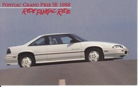 Grand Prix SE, 1988, standard-size, USA