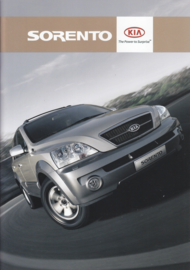 Sorento brochure, 32 pages, 2006, A4-size, Dutch language