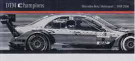 DTM Champions 1988-2006 brochure. 8 pages, 2007, German language