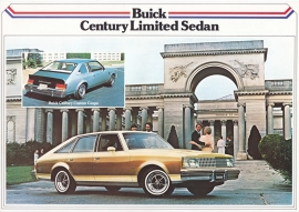 Century LTD Sedan & Custom Coupé 1979, 2 pages, export, Dutch language