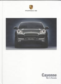Cayenne brochure, 184 pages, 06/2003, hard covers, German
