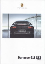 911 GT2 brochure, 108 pages, 07/2007, hard covers, German