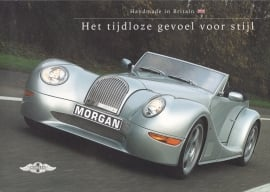 Program 3 models/TVR Tuscan, 6 page brochure (A4), about 2002, Dutch language *