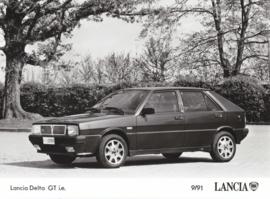 Lancia Delta GT i.e. - factory photo - 09/1991