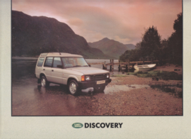 Discovery folder, 4 pages, English language, # LRD 558, about 1988
