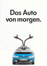 IRVW-Futura concept brochure, A4-size, 4 pages, German language, 09/1989