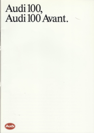 100 & 100 Avant brochure, 40 pages, 01/1988, Dutch language