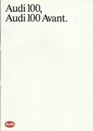100 & 100 Avant brochure, 40 pages, 01/1988, Dutch language