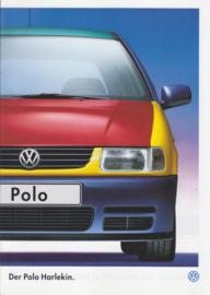 Polo Harlekin brochure, 8 pages,  A4-size, German language, 05/1996