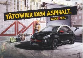 Adam postcard, Edgar freecard, # 16.851, German language