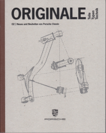Classic Original Parts brochure, 128 pages, 03/17, hard covers, German language