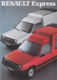 Express brochure, 20 pages, 10/1989, A4-size, Dutch language