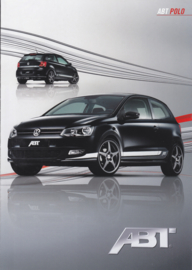 Polo ABT tuning brochure, A4-size, 6 pages, about 2010, English language