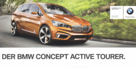 Concept Active Tourer, 21 x 10,5 cm, German language, about 2014