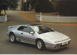 Esprit SE sportscar, 2 page leaflet, DIN A4-size, 1991, factory-issued, English