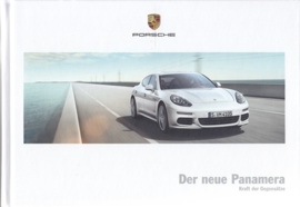 Panamera brochure, 158 pages, 04/2013, hard covers, German