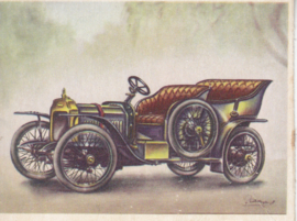 Vauxhall 12/16 1908, Full Speed, Dutch language, # 25