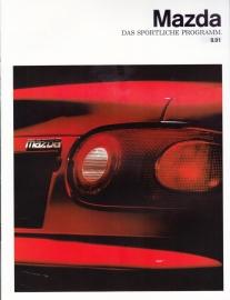 Sport models brochure, 12 pages, 0/1991, German language