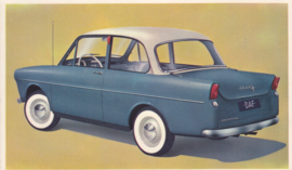 600 Sedan, standard size, factory issue, 5 languages, about 1960, # 18