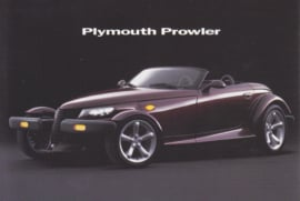 Prowler postcard, M@x Racks card, USA issue, about 1999