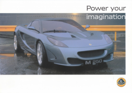 M250 V6 Coupe, 2 page leaflet, DIN A4-size, factory-issued, English language