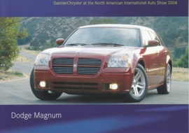 Dodge Magnum Wagon, A6-size postcard, NAIAS 2004