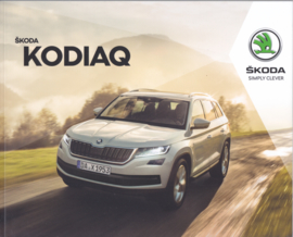 Kodiaq brochure, 84 pages, German language, 10/2017
