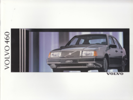 460 Sedan brochure, 46 pages, Dutch language, BV 6031-90