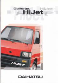 Hi Jet  commercials brochure, 12 pages, about 1997, A4-size, Dutch language